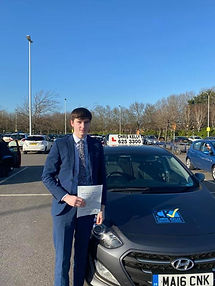 Congratulations Harvey Lowe on passing h