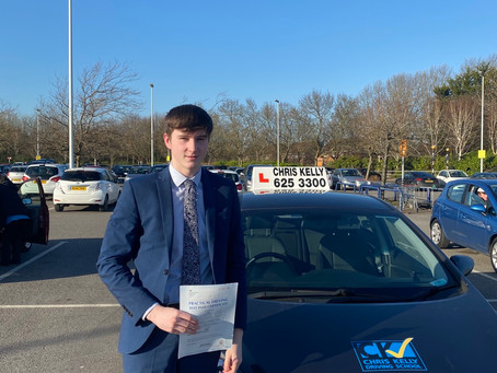 Another driving test pass for 2020