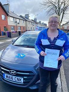Congratulations Karen Barrow on passing