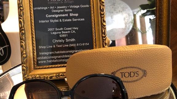 Pair of Tod's sunglasses-new