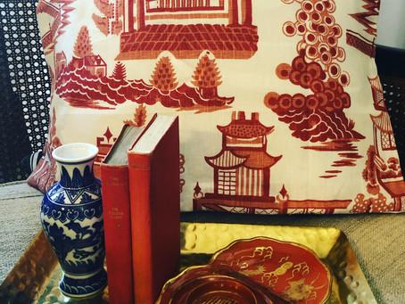 Fabulous pagoda pillows