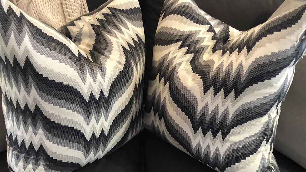 Custom Chevron Pillows