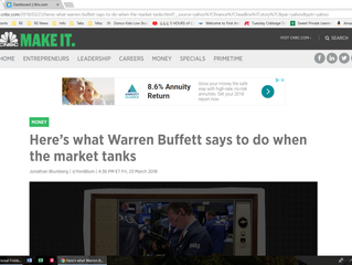 Lessons from Warren Buffett... Applied to Real Estate
