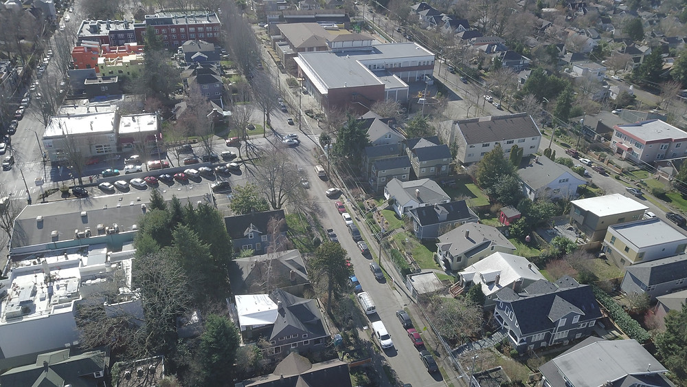 Townhouse for Rent in Madrona - Aerial Image of Madrona