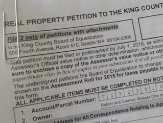 Appealing your King County property tax assessment - My first-hand experience Part 1: Filing the App