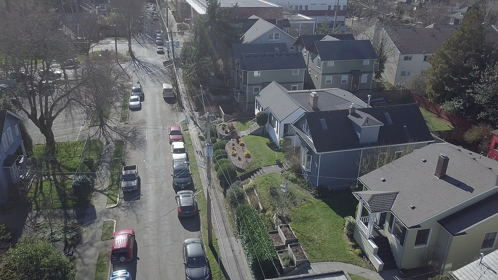Townhouse for Rent in Madrona - Aerial Image of Madrona Townhouse