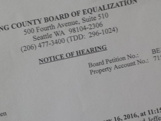 Appealing your King County property tax assessment, and my first-hand experience – Part 2: The Appea