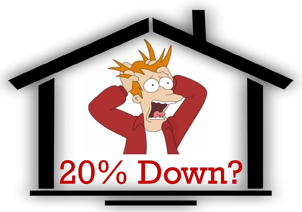 Is a 20% down payment necessary around Seattle?