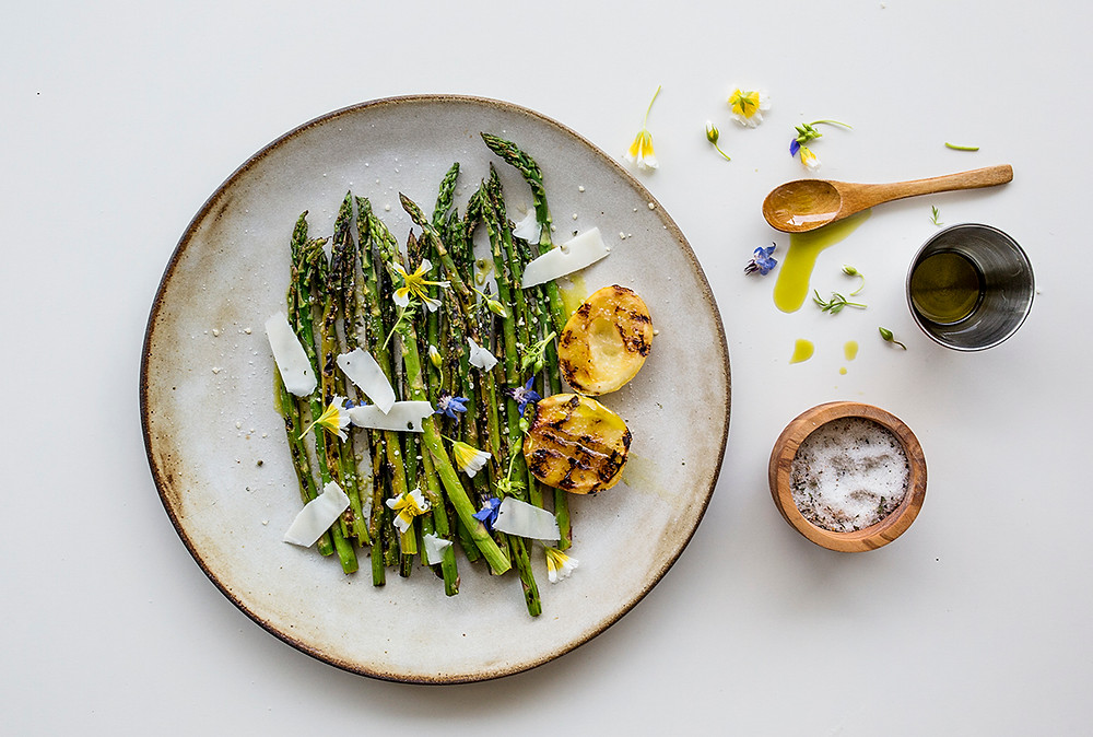Sous Weed's Grilled Asparagus with Olive Oil