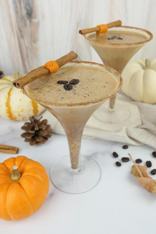 The Herb Somm's Pumpkin Espresso CBD Martini