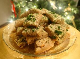 Festive Focaccia Bread Infused with CBD Oil