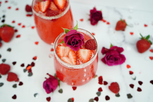 Celebrate Valentine's Day With A Red Berry Cardamom 'Love Potion' Hi-Fi Hops Spritz