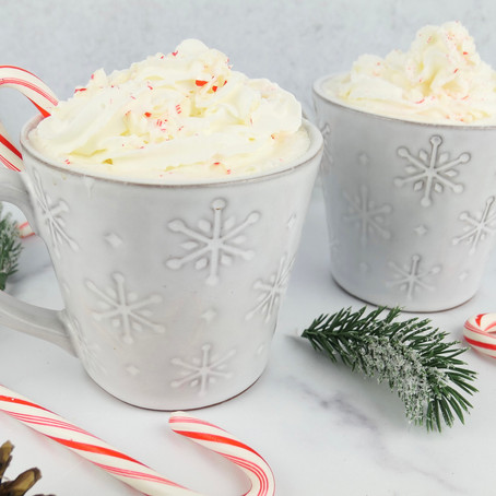 Candy Cane White Hot CBD Chocolate