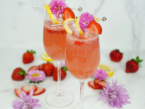 Strawberry Hibiscus Gem + Jane Bellini