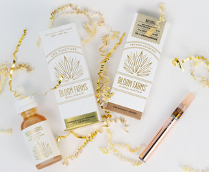 Add Some Sparkle To Your Holiday Season With Bloom Farms CBD