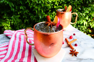 Celebrate the Holidays With This Apple Spice CBD Mule