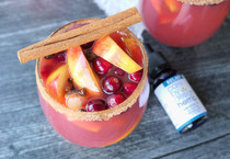 Celebrate Fall Flavors With This Delicious Non-Alcoholic CBD Sangria