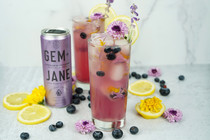 Lemon Blueberry Lavender Cannabis-Infused Collins