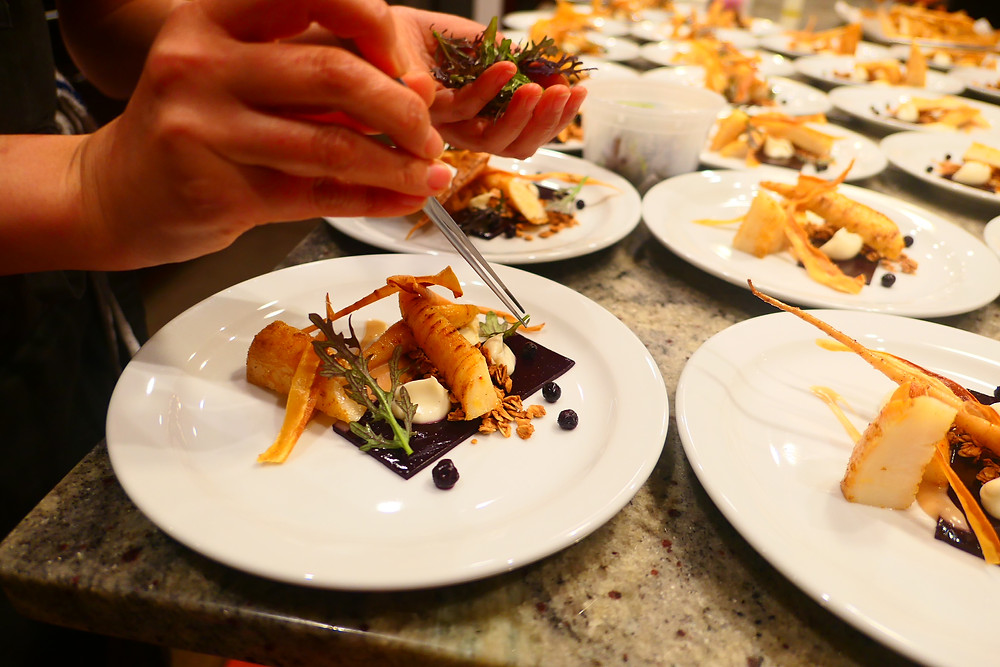 Opulent Chef Dinner at Thursday Infused