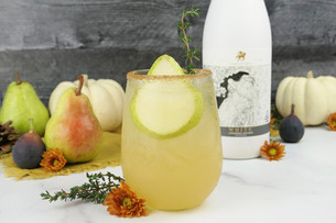 Liven Up New Year's Eve with Spiced Pear Saka Punch