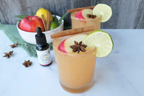 Refresh Your Taste Buds With A Zero-Proof Spiced Apple CBD Margarita This Autumn