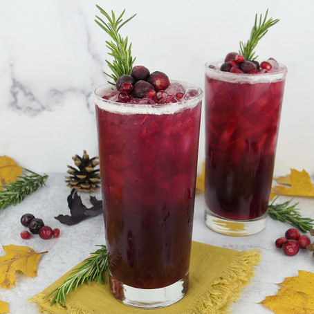 Celebrate Thanksgiving With A Cranberry Pomegranate Hi-Fi Citrus Sparkler