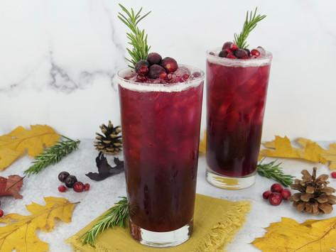 Celebrate Thanksgiving With A Cranberry Pomegranate Hi-Fi Citrus Sparkler