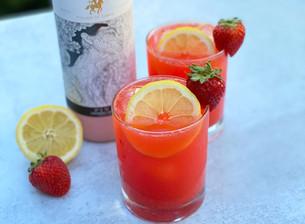 Strawberry Saka Lemonade