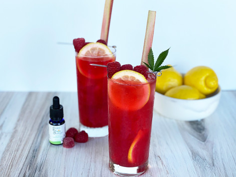 Quench Your Summer Thirst With A Raspberry Rhubarb Palmer