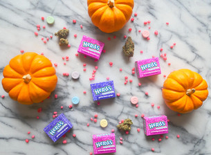 7 Cannabis Strains to Pair with Halloween Candy