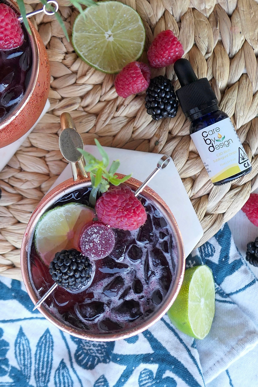Herb Somm's Summer Berry CBD Mule