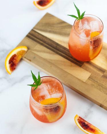 Jamie Evans_Cannabis Drinks_Blood Orange