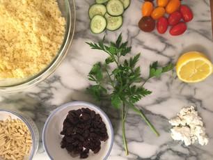 Zesty Cannabis Couscous Salad