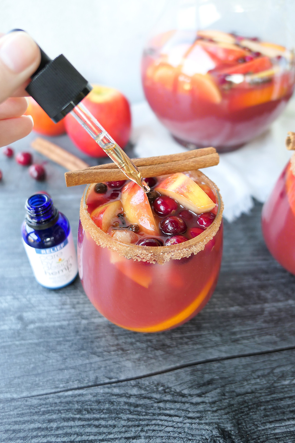 The Herb Somm's CBD Sangria Infused With Care By Design Hemp