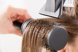 blow drying japanese hair straightening new york