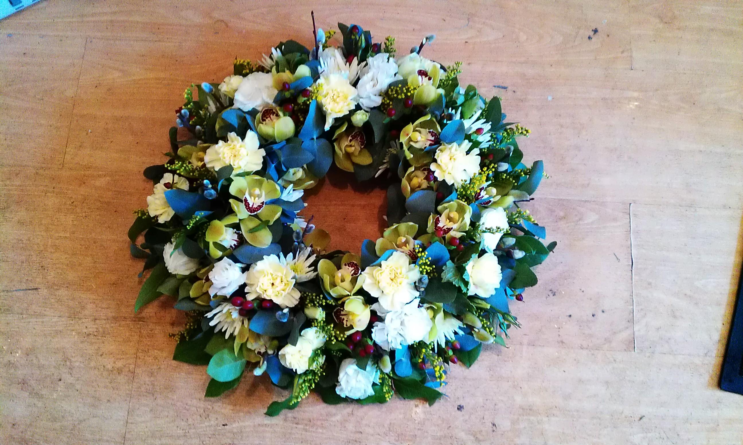 Funeral flowers Desborough