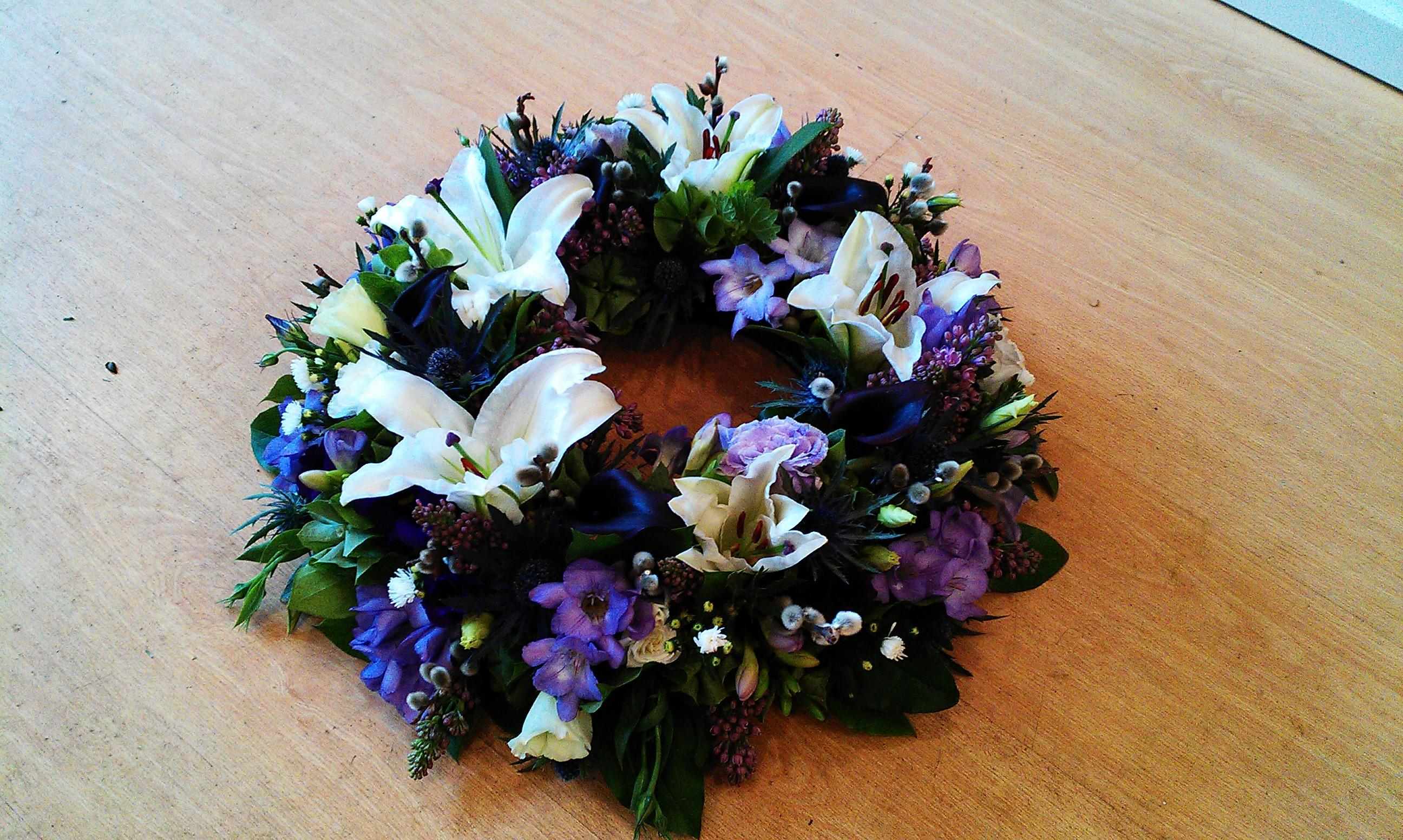 Sympathy flowers Desborough