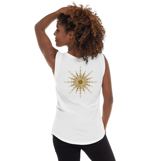 Araina Women's Yoga T-Shirt - 100% Cotton