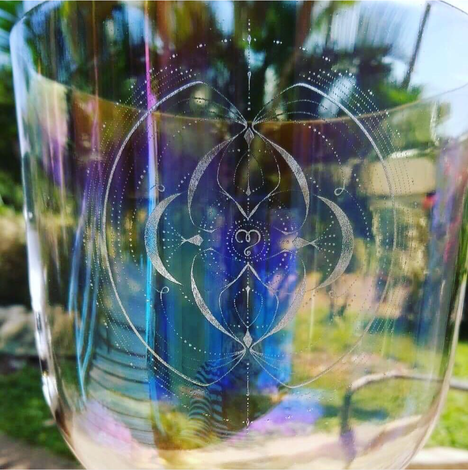 Core Key Code of Love - Crystal Bowl