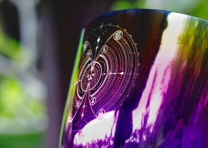 Core Key Code of Creation - Crystal Bowl
