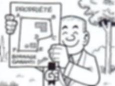 Bande dessinée géomètre