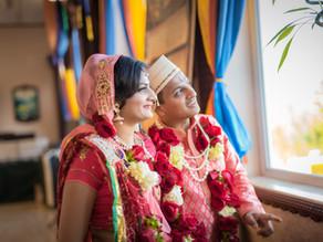 Shraddha & Akshit Wedding at ISKCON Vedic Cultural Center Sammamish