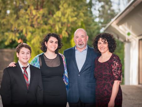 Bar Mitzvah Ceremony, Herzl Ner Tamid Conservative, Mercer Island