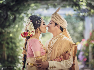 Puneetha & Mayank Wedding, Black Diamond Gardens