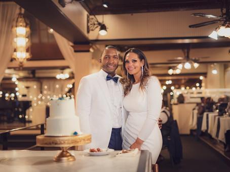 Glen & Sabrina Lake Union Café Wedding