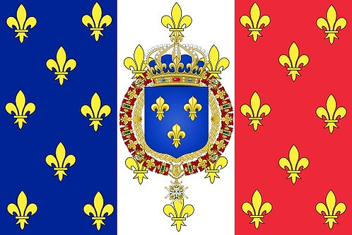 DRAPEAU ROYAUME DE FRANCE
