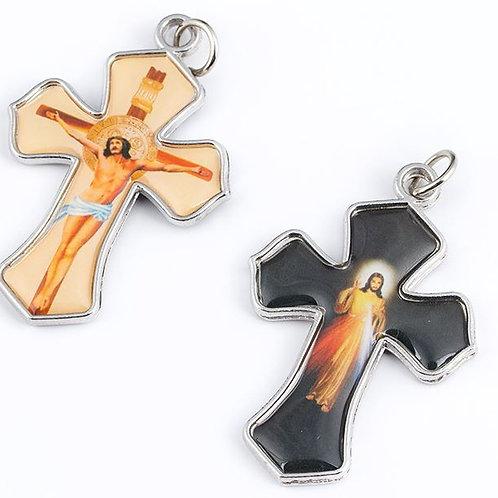 PENDENTIF CROIX CHRIST 2 MODELES DIFFERENTS