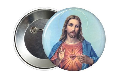 BADGE JESUS CHRIST 38 MM