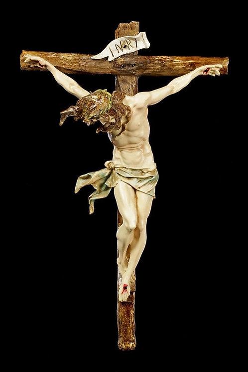 CRUCIFIX - RELIEF JESUS SUR LA CROIX