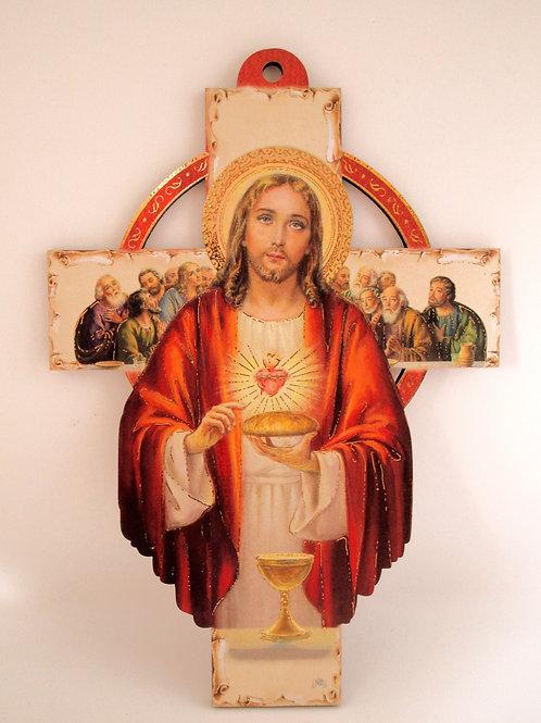 CROIX JESUS CHRIST BOIS